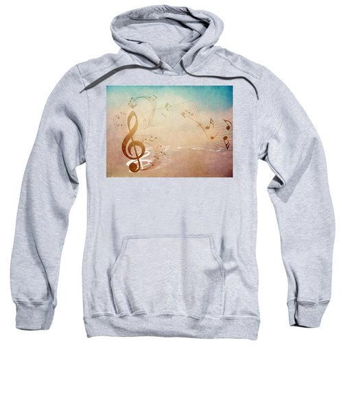 Please Dont Stop The Music Sweatshirt by Angelina Vick