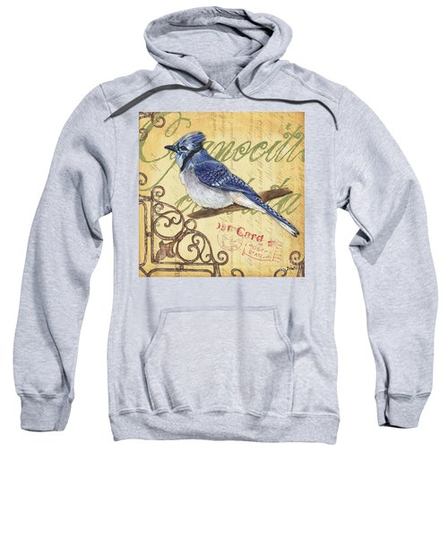 Pretty Bird 4 Sweatshirt by Debbie DeWitt