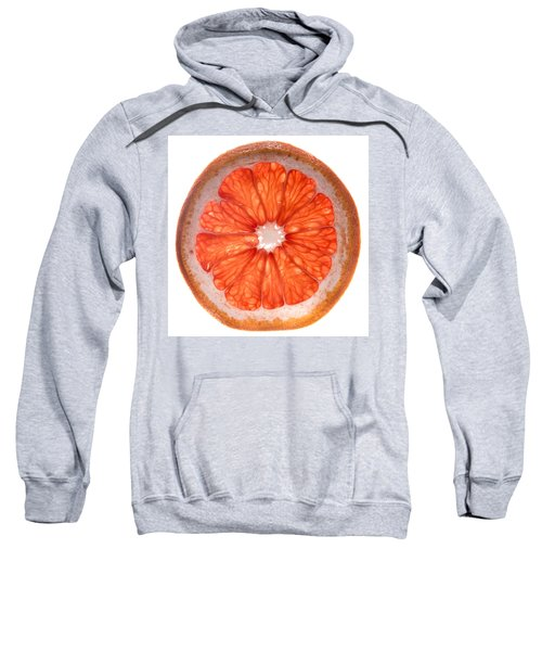 Red Grapefruit Sweatshirt by Steve Gadomski