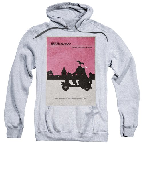 Roman Holiday Sweatshirt by Ayse Deniz