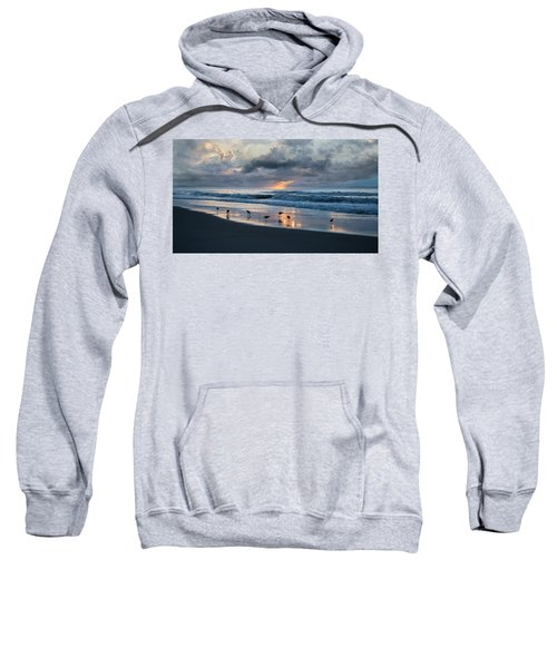 Sandpipers In Paradise Sweatshirt by Betsy Knapp