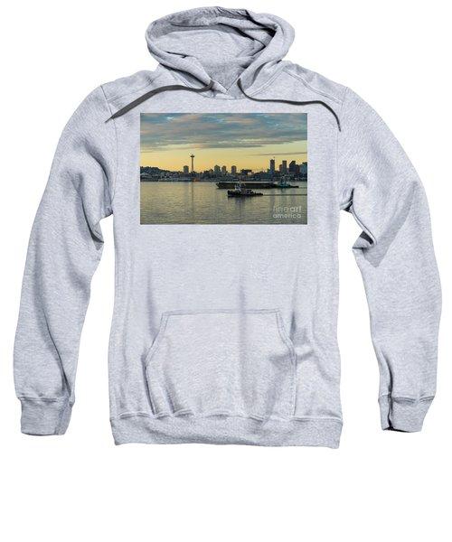 Seattles Working Harbor Sweatshirt by Mike Reid