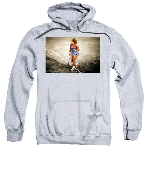 Serena Williams Count It Sweatshirt by Brian Reaves