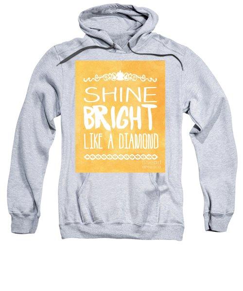 Shine Bright Orange Sweatshirt by Pati Photography