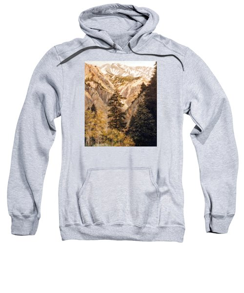 Shirley Temple Mine Sweatshirt by Donna Tucker