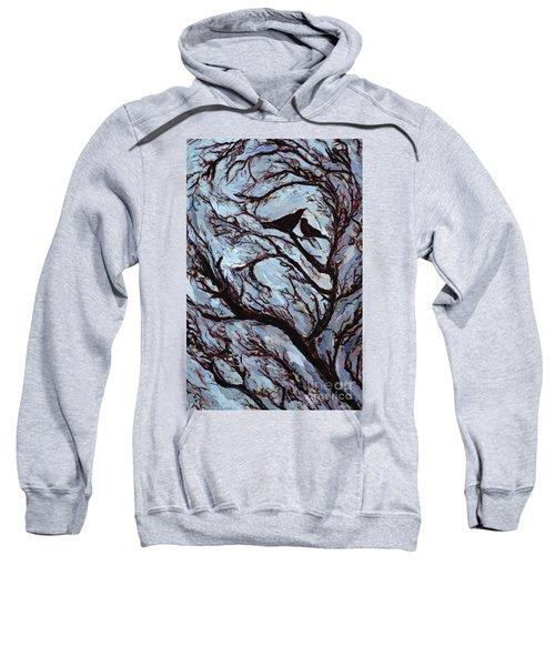 Stormy Day Greenwich Park Sweatshirt by Ellen Golla