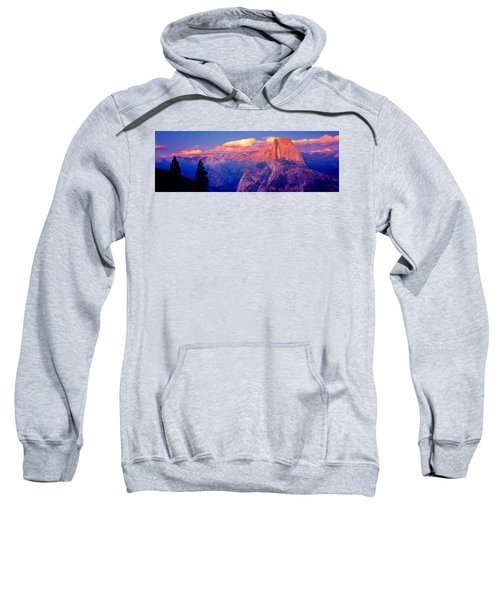 Sunlight Falling On A Mountain, Half Sweatshirt by Panoramic Images
