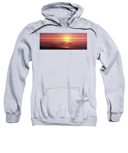 Sunset Over The Sea, Venice Beach Sweatshirt by Panoramic Images