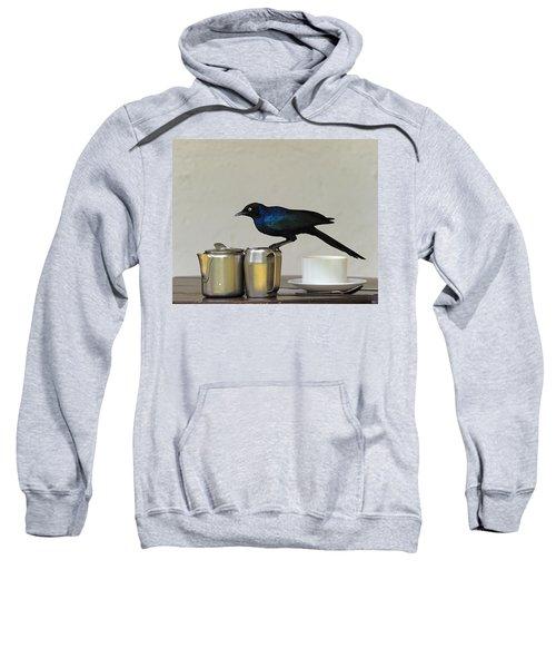 Tea Time In Kenya Sweatshirt by Tony Beck