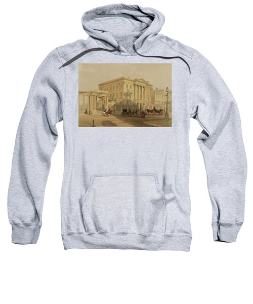 The Exterior Of Apsley House, 1853 Sweatshirt by English School