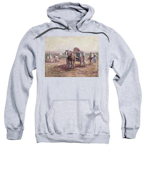 The Potato Pickers Sweatshirt by Harry Fidler