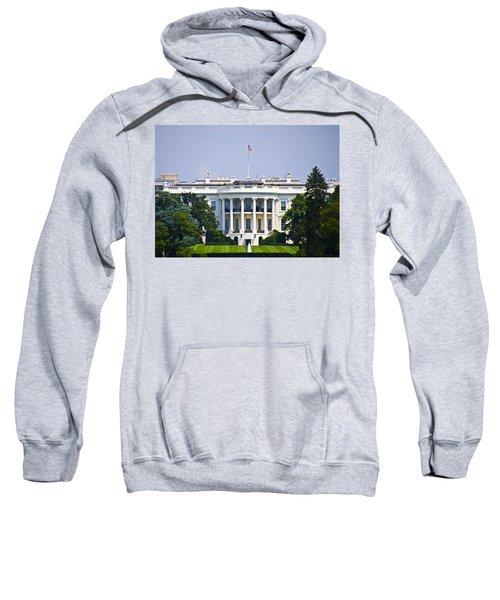 The Whitehouse - Washington Dc Sweatshirt by Bill Cannon
