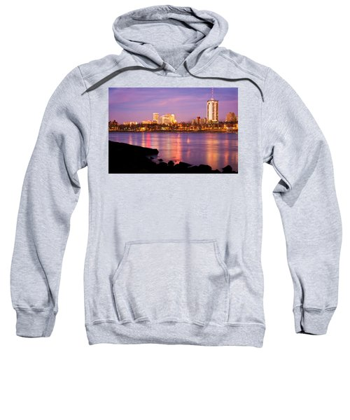 Tulsa Oklahoma - University Tower View Sweatshirt by Gregory Ballos
