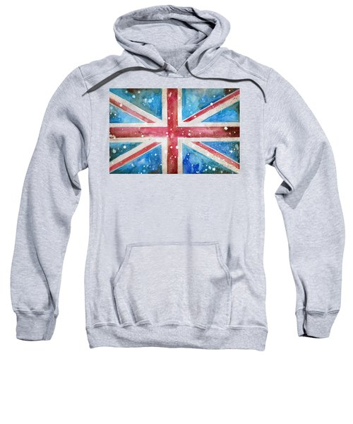 Union Jack Sweatshirt by Sean Parnell