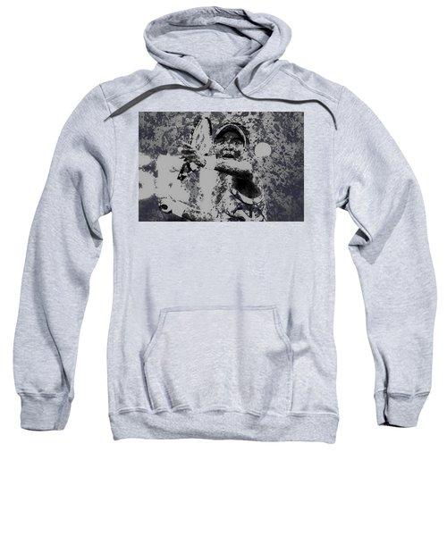 Venus Williams Paint Splatter 2e Sweatshirt by Brian Reaves