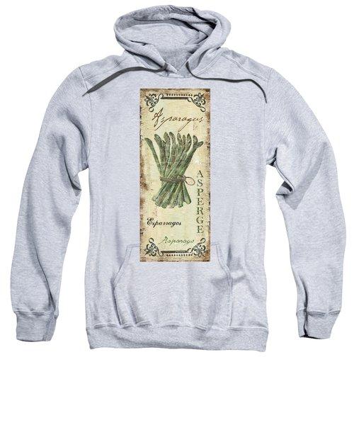 Vintage Vegetables 1 Sweatshirt by Debbie DeWitt