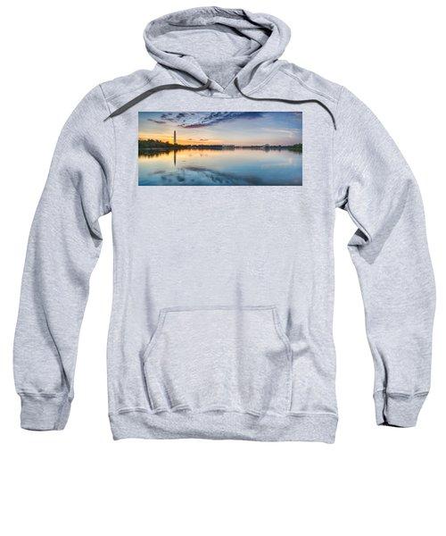 Washington Dc Panorama Sweatshirt by Sebastian Musial