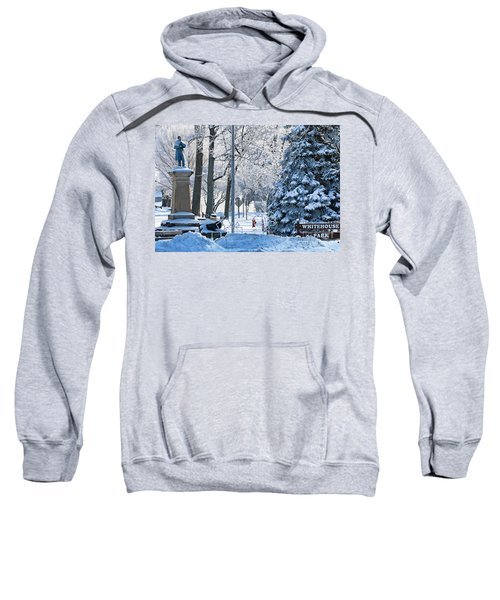 Whitehouse Village Park  7360 Sweatshirt by Jack Schultz