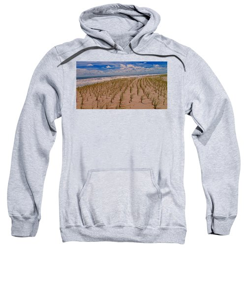 Wildwood Beach Breezes  Sweatshirt by David Dehner