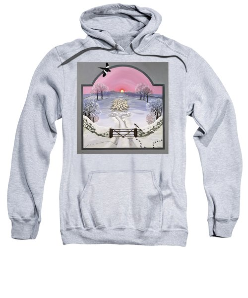 Winter Sweatshirt by Maggie Rowe