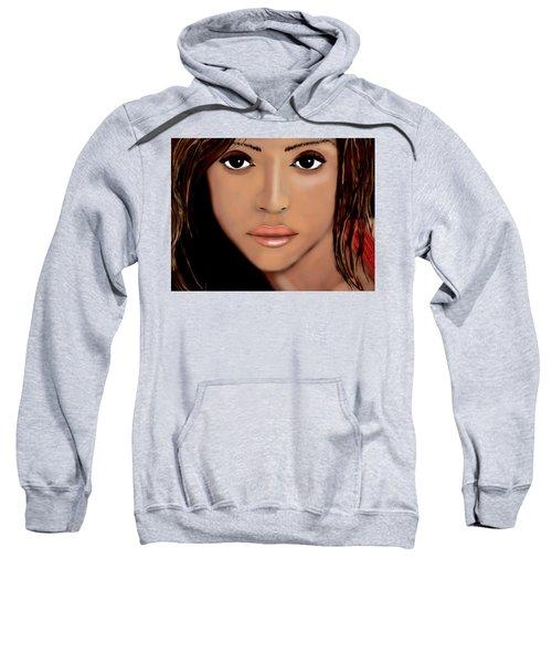 Jessica Alba Sweatshirt by Mathieu Lalonde