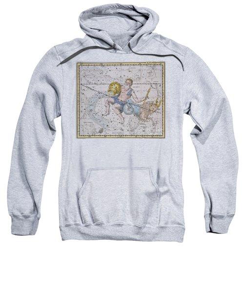 Aquarius And Capricorn Sweatshirt by A Jamieson