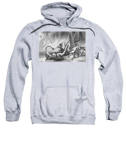 Boa Constrictor Attack Sweatshirt by Granger