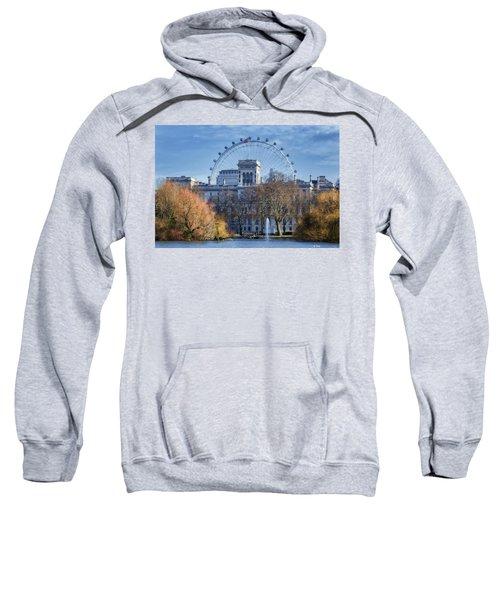 Eyeing The View Sweatshirt by Joan Carroll