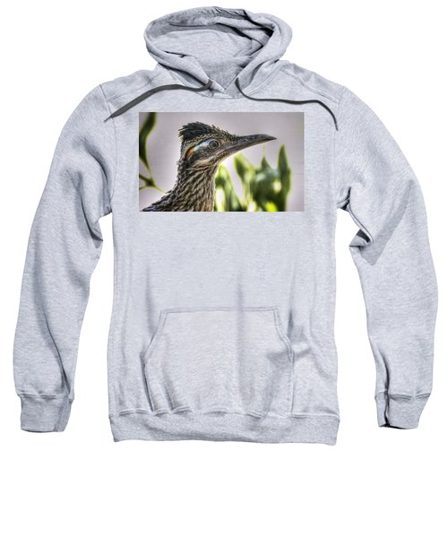 Roadrunner Portrait  Sweatshirt by Saija  Lehtonen