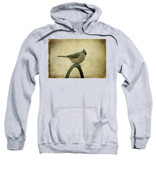 Tufted Titmouse II Sweatshirt by Sandy Keeton