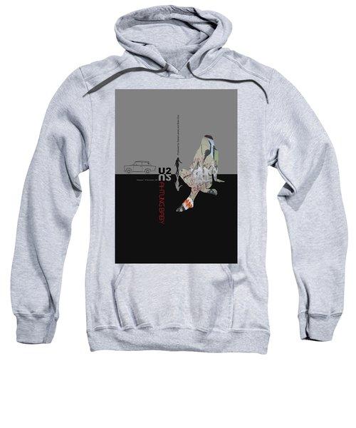 U2 Poster Sweatshirt by Naxart Studio