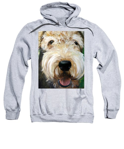 Up Close  Sweatshirt by Mary Sparrow