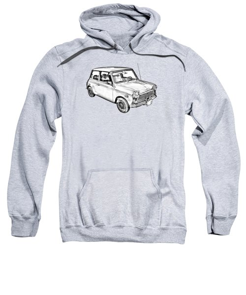 Mini Cooper Illustration Sweatshirt by Keith Webber Jr