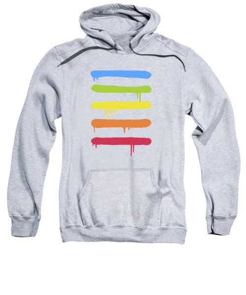 Trendy Cool Graffiti Tag Lines Sweatshirt by Philipp Rietz
