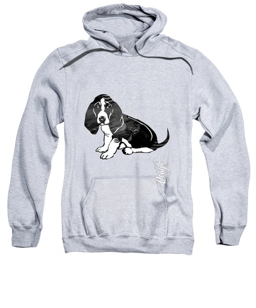 Beagle Collection Sweatshirt by Marvin Blaine