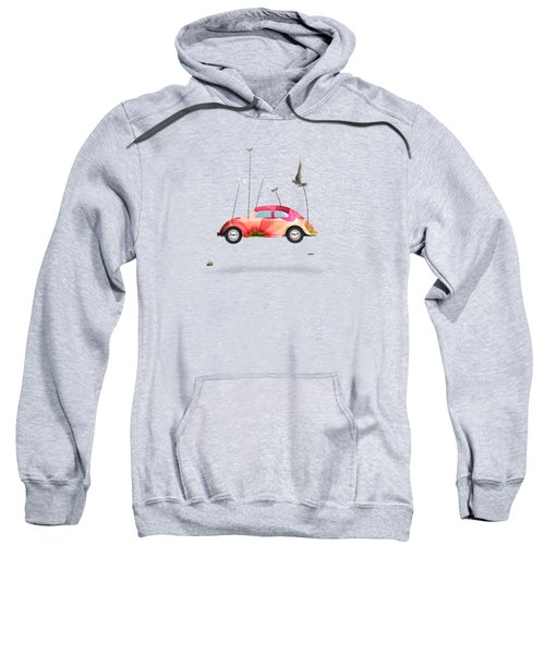 Suriale Cars  Sweatshirt by Mark Ashkenazi