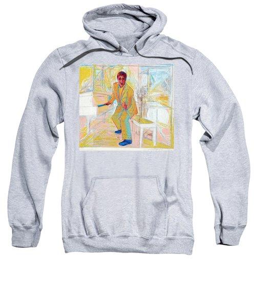 Elton John Sweatshirt by Martin Cohen