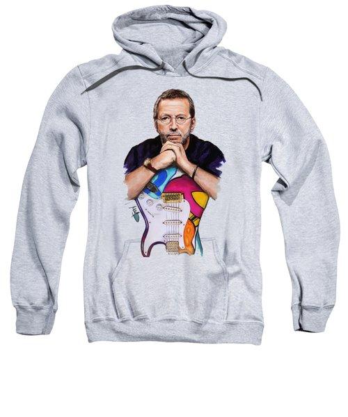 Eric Clapton Sweatshirt by Melanie D