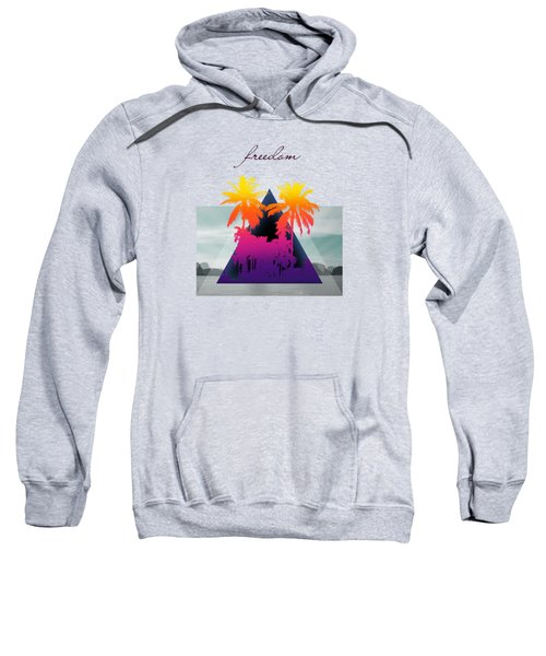 Freedom  Sweatshirt by Mark Ashkenazi