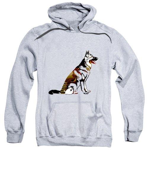 German Sheperd Collection Sweatshirt by Marvin Blaine