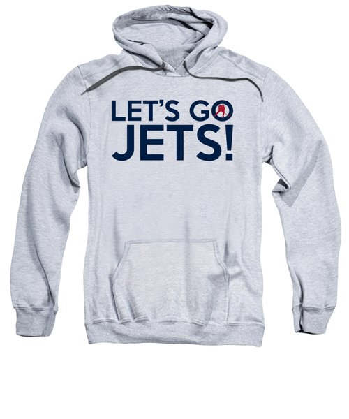 Let's Go Jets Sweatshirt by Florian Rodarte
