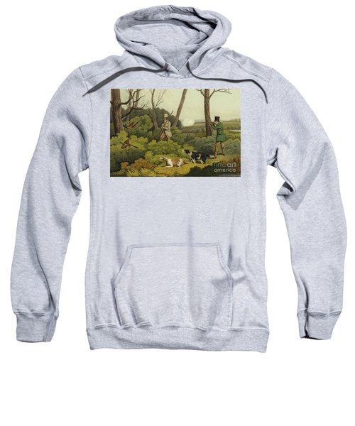 Pheasant Shooting Sweatshirt by Henry Thomas Alken