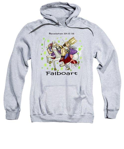 Revelation 19-11-16 Sweatshirt by Anthony Falbo
