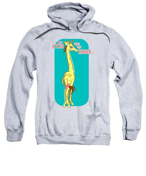 Sassy Giraffe - Fancy Sweatshirt by J L Meadows