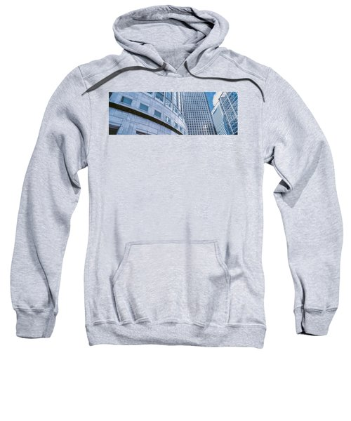 Skyscrapers In A City, Canary Wharf Sweatshirt by Panoramic Images