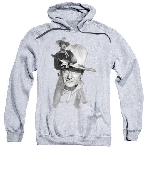 The Duke John Wayne Sweatshirt by Diana Van
