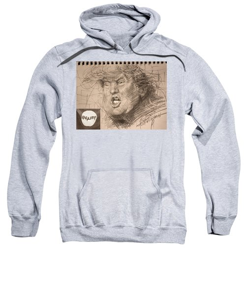 Trump Sweatshirt by Ylli Haruni