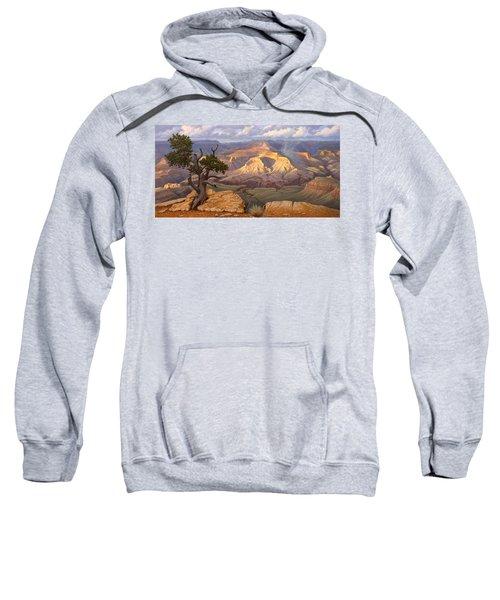 Zoroaster Temple From Yaki Point Sweatshirt by Paul Krapf