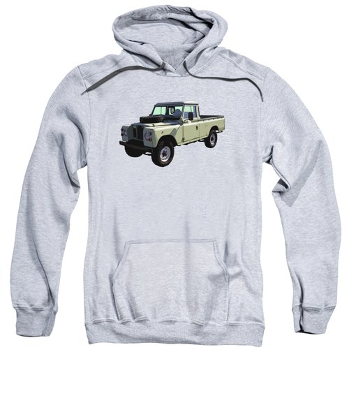 1971 Land Rover Pickup Truck Sweatshirt by Keith Webber Jr