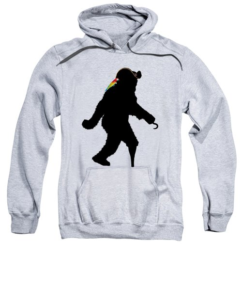 Gone Squatchin Fer Buried Treasure Sweatshirt by Gravityx9  Designs